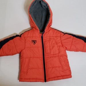 Oshkosh B'gosh Puffer Hooded Winter Coat Size 2T